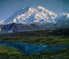 Denali, known to Fairbanksans as Mt. McKinley